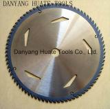 Tct Hoja de sierra circular rápido trabajando para el aluminio