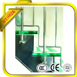 fábrica coloreada plana o curvada de 6.38-41.04m m del vidrio laminado con el Ce/ISO9001/CCC