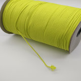 2mmフラッシュ緑のゴム製伸縮性があるロープのコード