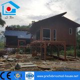 Дом стальной структуры Prefab с нижней стальной рамкой для водоустойчивого