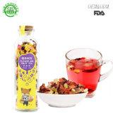 Venda por grosso de 500ml Chá Cold-Brewing FDA garrafa de vidro com rolha