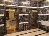 Италия Nero слоя из черного мрамора для кухни и ванной комнатой/стены и пол