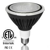 Réglable par38 de 18W à LED avec Spotlight ETL