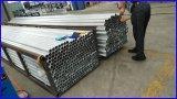 6060 tubos de aluminio/aislante de tubo/tubos de la protuberancia T66 para el estante solar