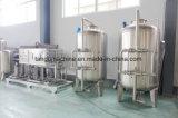 소다를 위한 자동적인 탄산 물 청량 음료 병조림 공장 충전물 기계장치를 완료하십시오
