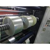 Rouleau de film plastique horizontale de refendage automatique de la machine pour BOPP, PVC, PET, PE