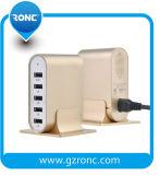 5 Port chargeur mural USB PC ignifugé