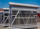 Kissen-Platten-Umhüllungen-Becken-Wärmetauscher für das Getränk, das Kondensator aufbereitet