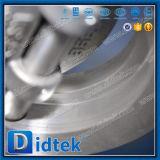 Triplo Didtek Tipo Wafer offset da válvula de borboleta