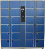インターネットのスーパーマーケットおよび郵便局に使用する情報処理機能をもった記号論理学の小包配達ロッカー