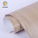 600*600 du grain du bois d'estampage à chaud pour PVC Aluminium Panneau au plafond