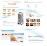 Medical Ce and FDA, Tga Approuvé 808nm Diode Laser Alexandrite Hair Removal Machine