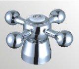 Accessoire de robinet en plastique d'ABS avec le fini de chrome (HW-006)