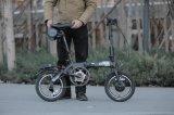 Bicicletta piegante di Batteryelectric del litio 24V180W con il motore di Akm