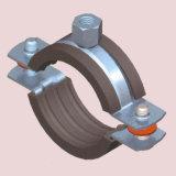 Струбцина трубы с резиновый подкладкой