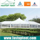 最も高いピークの6X12mと12 12X6 12m x 6mによって結婚するための6m x 12m 6混合された玄関ひさしのテント