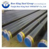 Exteral tubo rivestito a resina epossidica ricoperto ed interno di 3lpe di ERW del acciaio al carbonio