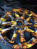 La fibre de carbone Hydrographie impression de films Films d'impression Transfert d'eau pour les pièces automobiles (BDH302)