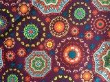 스키복/옥외 의복을%s 100%년 폴리에스테 옥스포드 300d 다채로운 심혼에 의하여 인쇄되는 직물