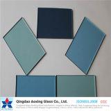 Glace r3fléchissante bleu-clair/bleu-foncé/grise avec la conformité d'OIN