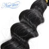 Верхние человеческие волосы девственницы волны качества дешево бразильские свободные