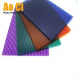 Serres chaudes Australie de polycarbonate de matériau de toiture