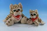 Plüsch-Spielwaren - grosse Augen-Katze (ST6110)