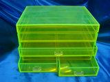 Boîte de rangement de l'organiseur en acrylique