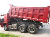 De de Chinees Kipper van het Vervoer van het Wiel HOWO 10/Vrachtwagen van de Stortplaats voor Afrika