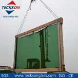 4-6mm greeen oscuro / verde profundo vidrio reflectante con Ce & ISO9001