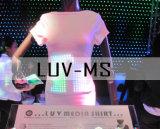 Realtime LED-T-shirt/pet/pet-borden