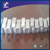 U Type de pièces jointes les chaînes à rouleaux de la transmission des chaînes de convoyeur (à partir de 08B-U1 à 24B-U1)