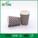 Tazza di tè calda di vendita calda del caffè della bevanda della Cina di Flexo di stampa del commercio all'ingrosso a parete semplice della stella