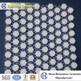 Chine Fabricant Alumina en céramique feuille hexagonale en tant que revêtement résistant à l'usure