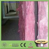 Melhor qualidade de manta de lã de vidro de cor de rosa com preço de fábrica