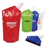 De goedkope Vrije Draagbare Fles van het Water BPA, Vouwbare het Drinken Fles