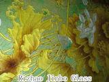 Vidrio Tempered de la impresión de la pantalla de seda (JINBO)