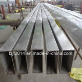 Ss316L Seamless Tube carré en acier inoxydable