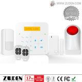 Allarme senza fili di obbligazione domestica di GSM dello scassinatore con lo schermo di tocco