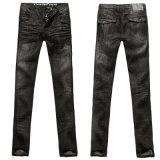 Jeans da uomo con whisker 3D (MON8AJF3-V3)