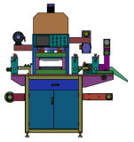 PTFEの膜の型抜き機械
