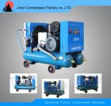 Compresor de aire móvil sin aceite Agua-Lubricado del tornillo