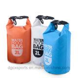 sac sec de paquet fait sur commande de logo de PVC 500d