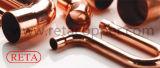 Encaixe longo do cobre do cotovelo para o conjunto
