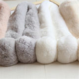 El mejor precio nuevo diseño Lady Fake Fur Bufanda