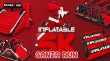 2018 neuer populärster extremer aufblasbarer 5K Lack-Läufer, aufblasbarer Hindernis-Kurs des Läufer-5K