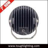 Luz redonda de la conducción de automóviles del CREE 9X10W LED de la C.C. 12V 7inch 90W