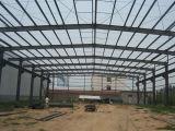 Construcción de la estructura de acero del palmo grande de la Pre-Ingeniería para el taller del almacén