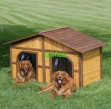 Chambre de chien en bois