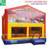 Brinquedos para crianças tema insuflável castelo insuflável